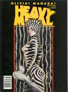 Heavy Metal Magazine #155 (1995)