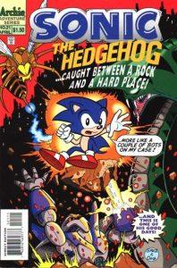 Sonic the Hedgehog #21 (1995)