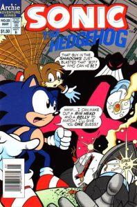Sonic the Hedgehog #22 (1995)