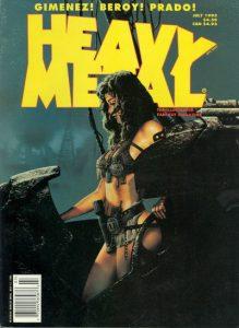 Heavy Metal Magazine #157 (1995)