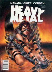 Heavy Metal Magazine #159 (1995)