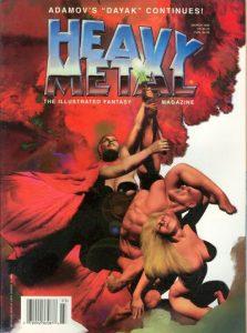 Heavy Metal Magazine #161 (1996)