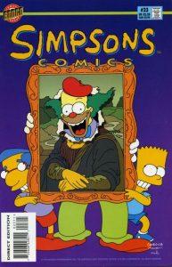 Simpsons Comics #23 (1996)
