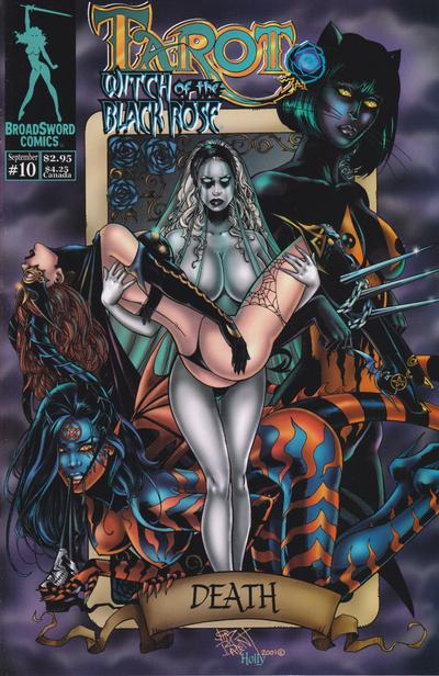 Tarot: Witch of the Black Rose #10 (2000)