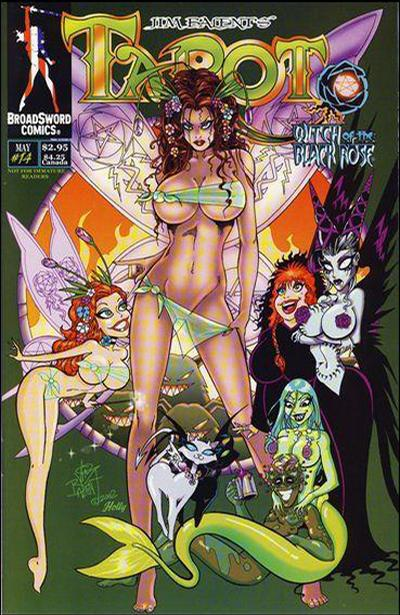 Tarot: Witch of the Black Rose #14 (2000)