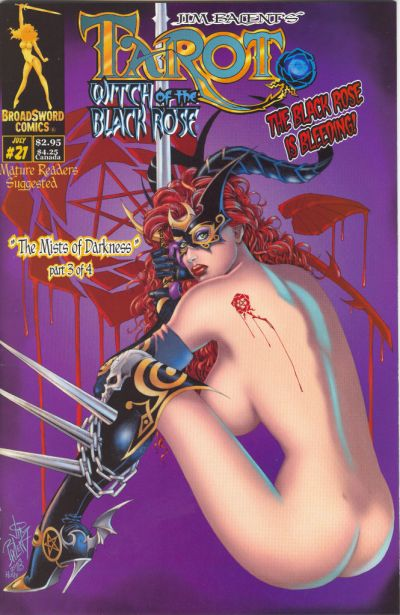 Tarot: Witch of the Black Rose #21 (2000)