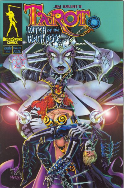 Tarot: Witch of the Black Rose #4 (2000)