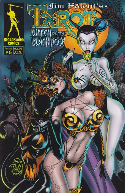 Tarot: Witch of the Black Rose #6 (2001)