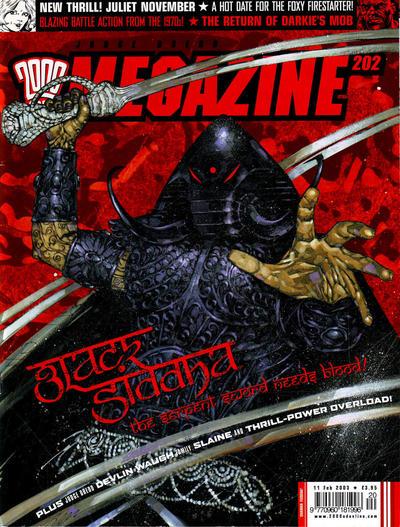 Judge Dredd Megazine #202 (2003)