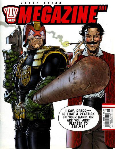 Judge Dredd Megazine #201 (2003)