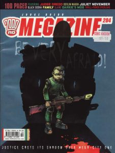 Judge Dredd Megazine #204 (2003)