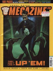 Judge Dredd Megazine #206 (2003)