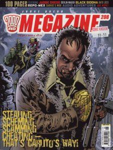 Judge Dredd Megazine #208 (2003)