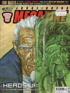 Judge Dredd Megazine #212 (2003)