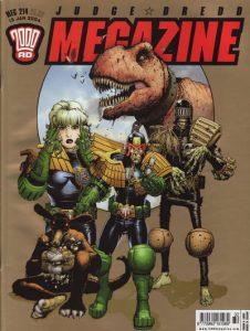 Judge Dredd Megazine #214 (2003)