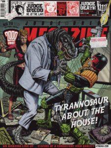 Judge Dredd Megazine #215 (2003)