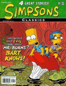 Simpsons Classics #5 (2004)