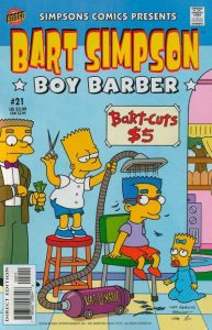 Simpsons Comics Presents Bart Simpson #21 (2004)
