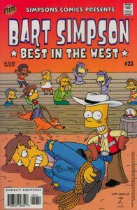 Simpsons Comics Presents Bart Simpson #23 (2005)