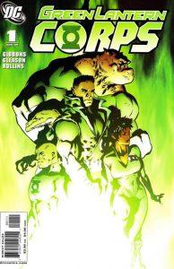 Green Lantern Corps #1 (2006)