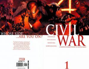 Civil War #1 (2006)