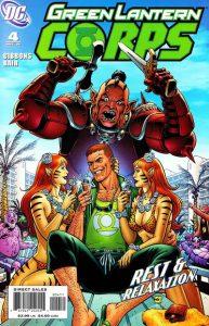 Green Lantern Corps #4 (2006)