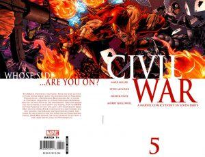 Civil War #5 (2006)