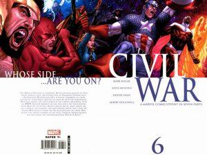 Civil War #6 (2006)