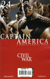 Captain America #24 (2007)