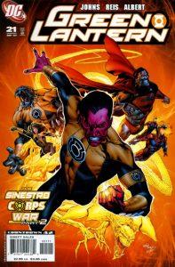 Green Lantern #21 (2007)