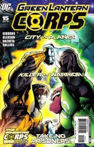 Green Lantern Corps #15 (2007)
