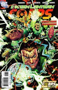 Green Lantern Corps #17 (2007)