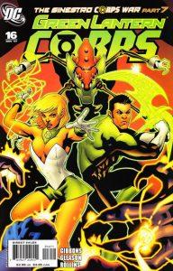 Green Lantern Corps #16 (2007)