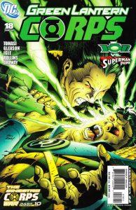 Green Lantern Corps #18 (2007)