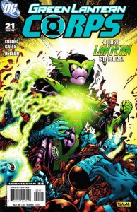 Green Lantern Corps #21 (2008)