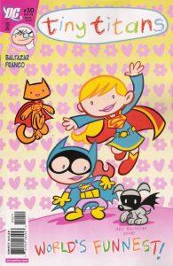 Tiny Titans #10 (2008)