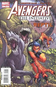 Avengers: The Initiative Featuring Reptil #1 (2009)