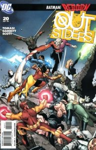 The Outsiders #20 (2009)