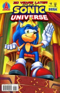 Sonic Universe #6 (2009)