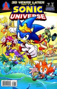 Sonic Universe #8 (2009)