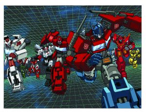 The Transformers #1 (2009)