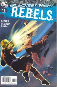 R.E.B.E.L.S. #11 (2009)