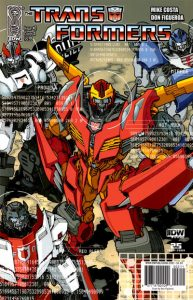 The Transformers #2 (2010)