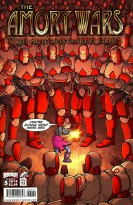 The Amory Wars in Keeping Secrets of Silent Earth: 3 #5 (2010)