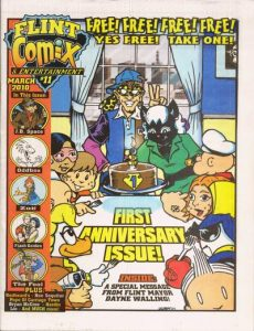 Flint Comix & Entertainment #11 (2010)