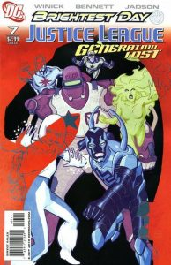 Justice League: Generation Lost #7 (2010)