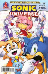 Sonic Universe #21 (2010)