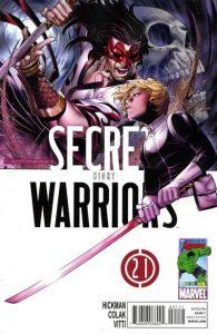 Secret Warriors #21 (2010)