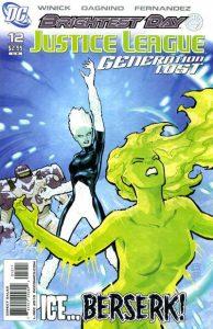 Justice League: Generation Lost #12 (2010)