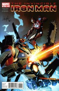 Invincible Iron Man #32 (2010)
